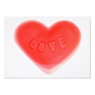 Sweet Heart Pink invitation