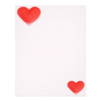 Sweet Heart Pink letterhead