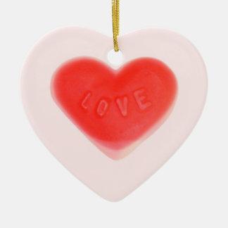 Sweet Heart Pink 'Name & Date' ornament heart