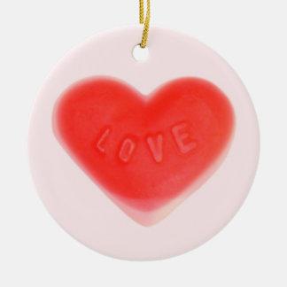 Sweet Heart Pink ornament