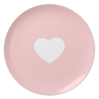 Sweet Heart Plate (Perfect Princess Pink)