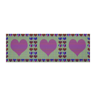 Sweet Heart Purple Sweet+Heart Abstract Art Gifts Canvas Print