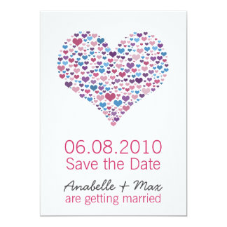 Sweet-Heart Save the Date Card