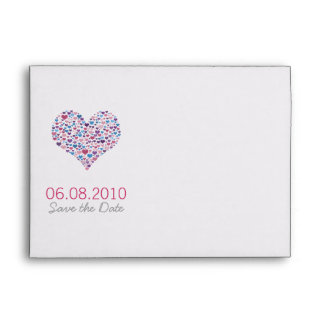 Sweet-Heart Save the Wedding Date Envelope