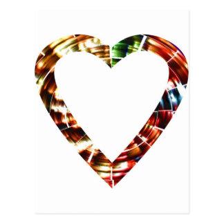 Sweet Heart V4 - Sparkling Red Series Postcard