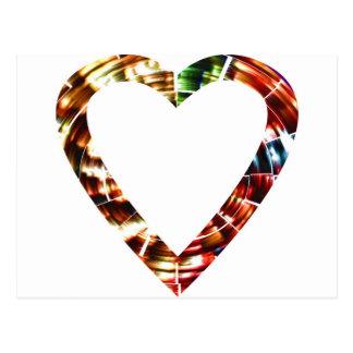 Sweet Heart V4 - Sparkling Red Series Postcards