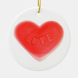 Sweet Heart 'Your Text' ornament