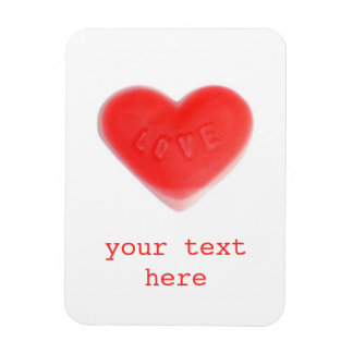 Sweet Heart 'Your text' premium magnet