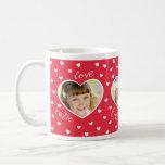 Sweet Hearts 3 Photo Custom Mug