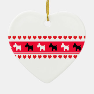 Sweet Hearts Ceramic Ornament