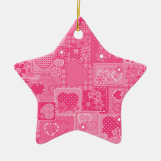 Sweet Hearts Ceramic Ornament