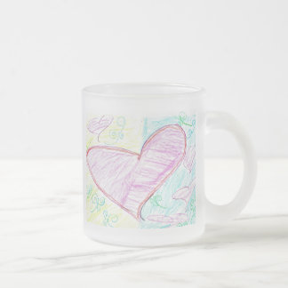Sweet Hearts Child Art Mug