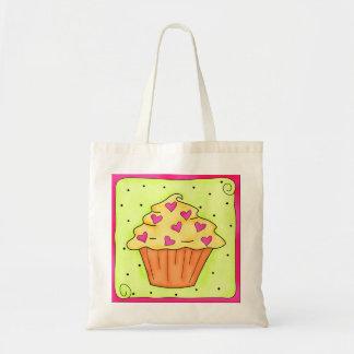Sweet Hearts Cupcake Tote Bag