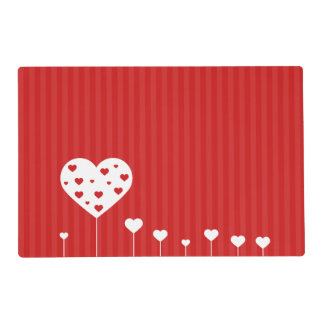 Sweet Hearts - Laminated Placemat