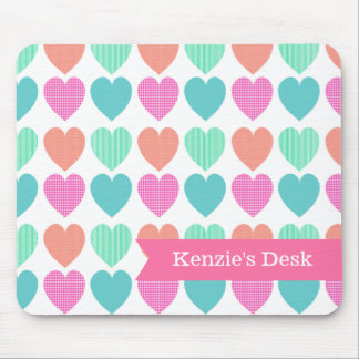 Sweet Hearts Mouse Pad