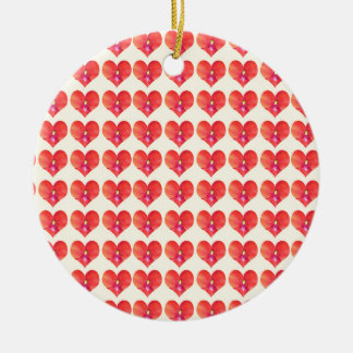 Sweet HEARTS Petal CherryHILL NJ NVN215 NavinJOSHI Christmas Ornament