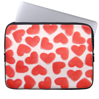 Sweet Hearts Pink laptop sleeve 13""