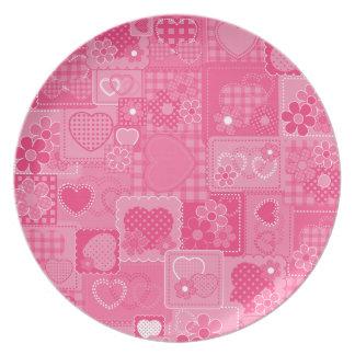 Sweet Hearts Plate