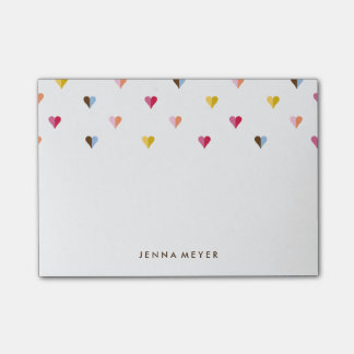 Sweet Hearts Small - Multi Colored Post-it® Notes