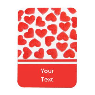 Sweet Hearts 'text' premium magnet