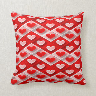 Sweet Hearts Throw Pillow