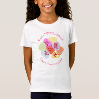 Sweet Hearts Valentines Candy T-Shirt