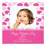 Sweet Hearts Valentine's Photo Card Invite