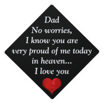Sweet Heavenly Father Orphan Child Love Graduation Graduation Cap Topper