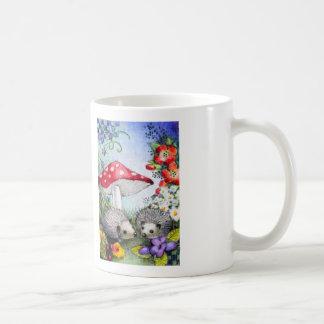 Sweet Hedgehog Art Mug