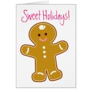 Sweet Holidays Greeting Card