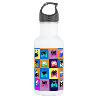 SWEET Home Abstract Graphic TEMPLATE Reseller 18oz Water Bottle