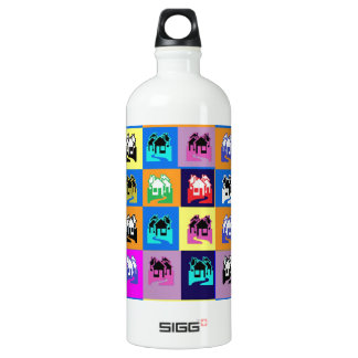 SWEET Home Abstract Graphic TEMPLATE Reseller SIGG Traveler 1.0L Water Bottle