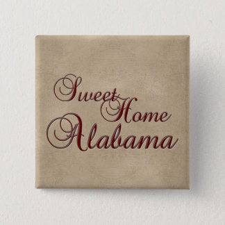 Sweet Home Alabama Button