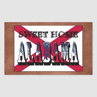 Sweet Home Alabama State Flag Sticker