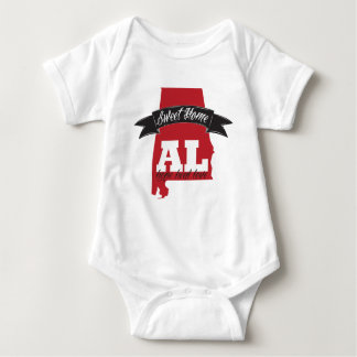 Sweet Home Alabama - Support Baby Bodysuit