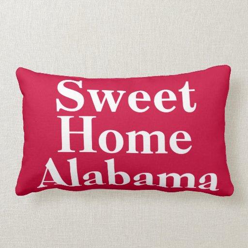 Sweet Home Alabama Throw Pillow Zazzle