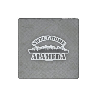 Sweet Home Alameda at Home Stone Magnet