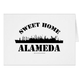 Sweet Home Alameda Greeting Card