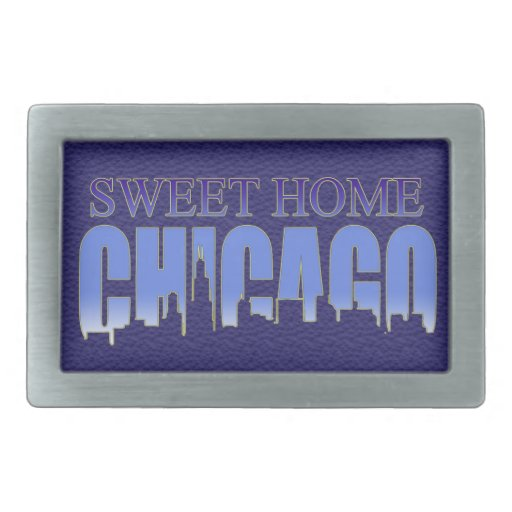 Sweet Home Chicago Belt Buckle