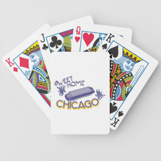 Sweet Home Chicago Bicycle Playing Cards
