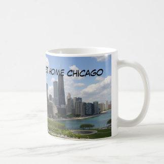 Sweet Home Chicago Classic White Coffee Mug