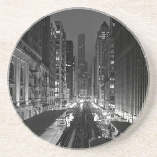 Sweet Home Chicago Drink Coasters