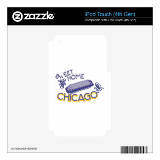 Sweet Home Chicago iPod Touch 4G Skins