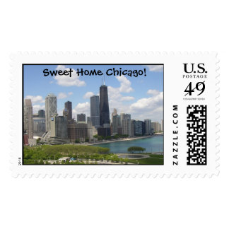 Sweet Home Chicago! Postage