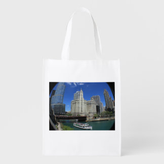 Sweet Home Chicago Reusable Grocery Bag