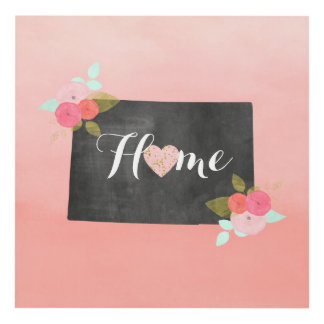 Sweet Home Colorado State & Moveable Heart Panel Wall Art