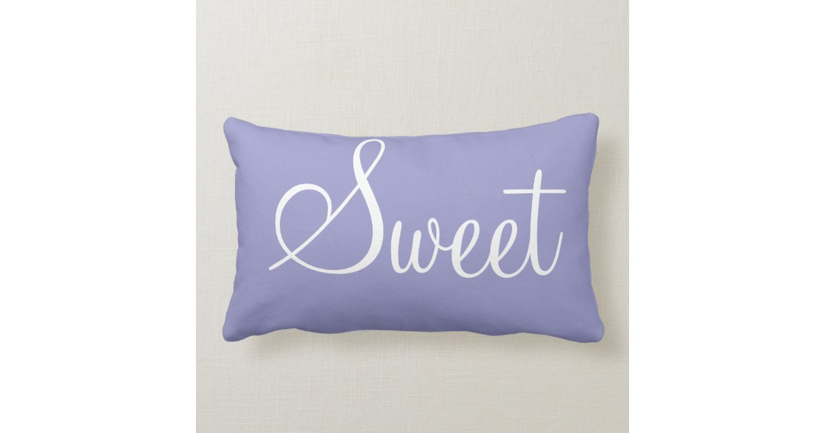 Sweet Home - decorative pillow Zazzle