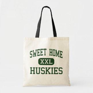 Sweet Home - Huskies - High - Sweet Home Oregon Canvas Bags