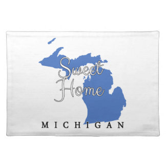 Sweet Home Michigan Placemat