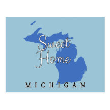 Sweet Home Michigan Postcard